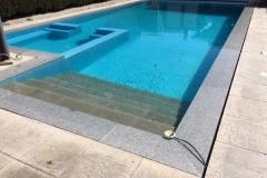 albardilla piscina granito