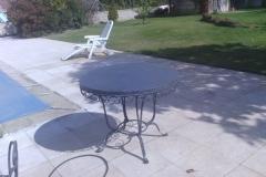 mesa negra